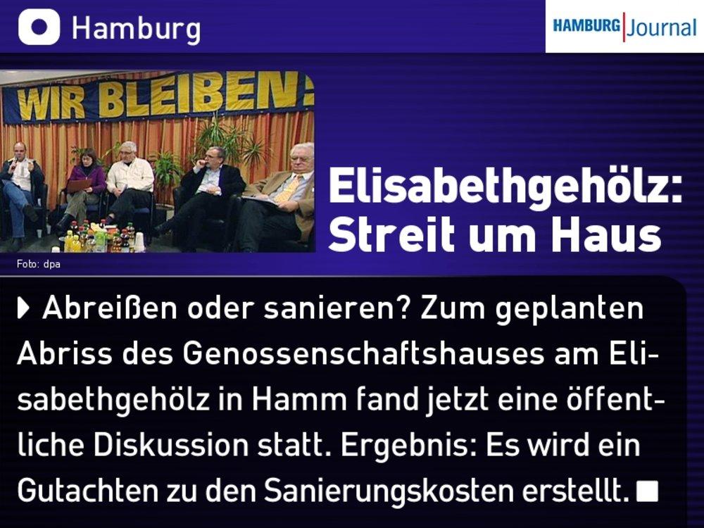Bericht über die Podiumsdiskussion von Rettet-Elisa im Fahrgastfernsehen des HVV am 15.12.11
